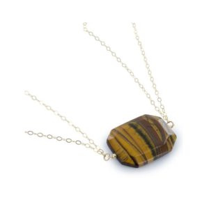 Shop Tiger Eye Pendants! Tiger's Eye Pendant, Large Gemstone 40×30 MM, Bold Necklace, Gold Tiger Eye, Birthday Gifts for Her for Mom | Natural genuine Tiger Eye pendants. Buy crystal jewelry, handmade handcrafted artisan jewelry for women.  Unique handmade gift ideas. #jewelry #beadedpendants #beadedjewelry #gift #shopping #handmadejewelry #fashion #style #product #pendants #affiliate #ad