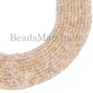 Shop Zircon Beads! Natural Brown Zircon Faceted Rondelle Shape Beads, Brown Zircon Faceted Rondelle Beads, Brown Color Zircon Natural Beads,Natural Zircon Bead   Natural genuine faceted Zircon beads for beading and jewelry making.  #jewelry #beads #beadedjewelry #diyjewelry #jewelrymaking #beadstore #beading #affiliate #ad