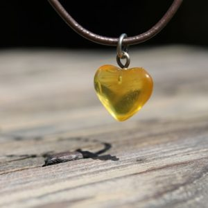 Genuine Amber Heart  Pendant  Necklace Honey Orange Amber Love Charm Hand Sculpted Birthday Mother's Day Gift  Jewelry | Natural genuine Amber pendants. Buy crystal jewelry, handmade handcrafted artisan jewelry for women.  Unique handmade gift ideas. #jewelry #beadedpendants #beadedjewelry #gift #shopping #handmadejewelry #fashion #style #product #pendants #affiliate #ad