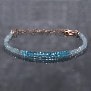 Shop Apatite Bracelets! Genuine Aquamarine Bracelet | Sterling Silver Gemstone Jewelry | Hill Tribes Silver Double Wrap Bracelet | Blue Green Apatite Bead Jewelry | Natural genuine Apatite bracelets. Buy crystal jewelry, handmade handcrafted artisan jewelry for women.  Unique handmade gift ideas. #jewelry #beadedbracelets #beadedjewelry #gift #shopping #handmadejewelry #fashion #style #product #bracelets #affiliate #ad