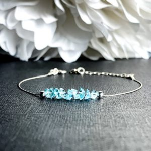 Shop Apatite Bracelets! Raw Apatite Crystal Bracelet Manifest Focus Stone Clarity Crystals Anklet | Natural genuine Apatite bracelets. Buy crystal jewelry, handmade handcrafted artisan jewelry for women.  Unique handmade gift ideas. #jewelry #beadedbracelets #beadedjewelry #gift #shopping #handmadejewelry #fashion #style #product #bracelets #affiliate #ad