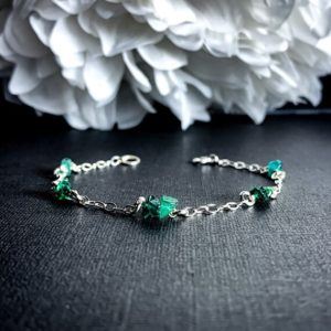 Shop Aventurine Bracelets! Aventurine Bracelet Raw Green Crystal Calming Anklet Bracelet Anklet | Natural genuine Aventurine bracelets. Buy crystal jewelry, handmade handcrafted artisan jewelry for women.  Unique handmade gift ideas. #jewelry #beadedbracelets #beadedjewelry #gift #shopping #handmadejewelry #fashion #style #product #bracelets #affiliate #ad