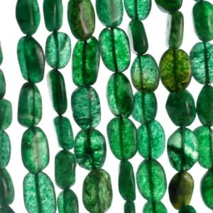 Shop Aventurine Chip & Nugget Beads! 8×7-12x7mm Green Moss Aventurine Gemstone Green Pebble Nugget Loose Beads 15 inch Full Strand (90185164-892) | Natural genuine chip Aventurine beads for beading and jewelry making.  #jewelry #beads #beadedjewelry #diyjewelry #jewelrymaking #beadstore #beading #affiliate #ad