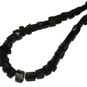 """Shop Black Tourmaline Chip & Nugget Beads! Black Tourmaline Beads/17"""" Inches Strand/Huge Natural Raw Black Tourmaline Crystal Beads/Black Tourmaline Beads/Size 7mm to 16mm   Natural genuine chip Black Tourmaline beads for beading and jewelry making.  #jewelry #beads #beadedjewelry #diyjewelry #jewelrymaking #beadstore #beading #affiliate #ad"""