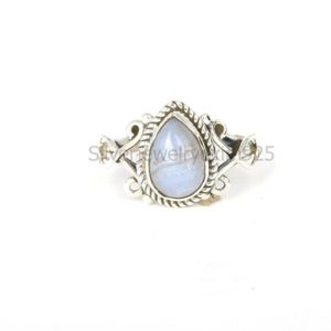 Shop Blue Lace Agate Rings! Natural Blue Lace Agate Ring, 925 Silver Rings, Women Rings, Gemstone Ring, Handmade Rings, Daily Wear Ring, Gift Item, Statement Rings   Natural genuine Blue Lace Agate rings, simple unique handcrafted gemstone rings. #rings #jewelry #shopping #gift #handmade #fashion #style #affiliate #ad