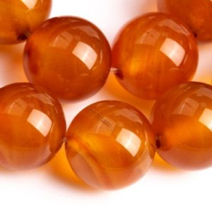 Shop Carnelian Round Beads! 38 / 19 Pcs – 10MM Orange Red Carnelian Beads Grade AAA Genuine Natural Round Gemstone Loose Beads (104276) | Natural genuine round Carnelian beads for beading and jewelry making.  #jewelry #beads #beadedjewelry #diyjewelry #jewelrymaking #beadstore #beading #affiliate #ad