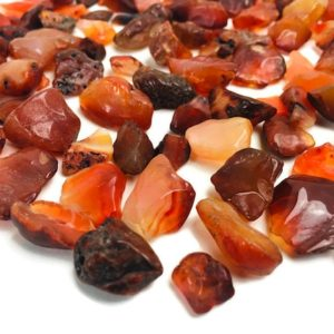 Shop Tumbled Carnelian Crystals & Pocket Stones! Carnelian Crystal Lot (100G) XS Carnelian Semi -Tumbled Rough Chips White Red Orange Stone Bulk Crystals Semi Polished Gravel   Natural genuine stones & crystals in various shapes & sizes. Buy raw cut, tumbled, or polished gemstones for making jewelry or crystal healing energy vibration raising reiki stones. #crystals #gemstones #crystalhealing #crystalsandgemstones #energyhealing #affiliate #ad