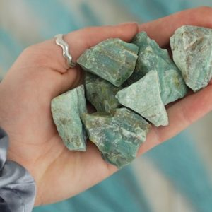 Shop Raw & Rough Chrysoprase Stones! Small Raw Green Chrysoprase Rough Crystal   Natural genuine stones & crystals in various shapes & sizes. Buy raw cut, tumbled, or polished gemstones for making jewelry or crystal healing energy vibration raising reiki stones. #crystals #gemstones #crystalhealing #crystalsandgemstones #energyhealing #affiliate #ad
