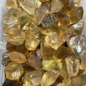 """Shop Citrine Stones & Crystals! Raw Citrine Stone AA Grade (0.25"""" – 2.5"""") – Natural Citrine Crystal rough – Natural Citrine stone – raw Citrine crystal – NOT heat treated 