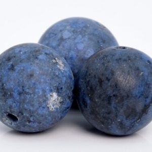 Shop Dumortierite Beads! 39 / 19 Pcs – 10MM Matte Blue Dumortierite Beads Grade AAA Genuine Natural Round Gemstone Loose Beads (105216) | Natural genuine round Dumortierite beads for beading and jewelry making.  #jewelry #beads #beadedjewelry #diyjewelry #jewelrymaking #beadstore #beading #affiliate #ad