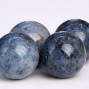 Shop Dumortierite Beads! 50 / 24 Pcs – 8MM Blue Dumortierite Beads Grade AAA Genuine Natural Round Gemstone Loose Beads (104639) | Natural genuine round Dumortierite beads for beading and jewelry making.  #jewelry #beads #beadedjewelry #diyjewelry #jewelrymaking #beadstore #beading #affiliate #ad
