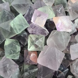 Shop Raw & Rough Fluorite Stones! Raw Fluorite Octahedrons, Small to Large Rough Crystals for Jewelry Making, Decor or Crystal Grids   Natural genuine stones & crystals in various shapes & sizes. Buy raw cut, tumbled, or polished gemstones for making jewelry or crystal healing energy vibration raising reiki stones. #crystals #gemstones #crystalhealing #crystalsandgemstones #energyhealing #affiliate #ad