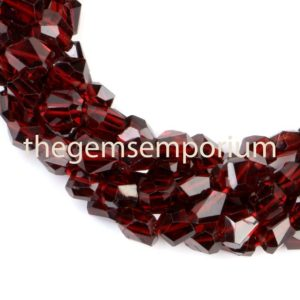 Shop Garnet Chip & Nugget Beads! Mozambique Garnet Faceted Fancy Nugget Shape Beads, Red Garnet Fancy Nuggets, Garnet Faceted Nuggets Straight Drill, Garnet Fancy Shape Bead | Natural genuine chip Garnet beads for beading and jewelry making.  #jewelry #beads #beadedjewelry #diyjewelry #jewelrymaking #beadstore #beading #affiliate #ad
