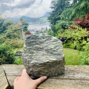 Shop Raw & Rough Serpentine Stones! Giant Raw Serpentine Crystal | Natural genuine stones & crystals in various shapes & sizes. Buy raw cut, tumbled, or polished gemstones for making jewelry or crystal healing energy vibration raising reiki stones. #crystals #gemstones #crystalhealing #crystalsandgemstones #energyhealing #affiliate #ad