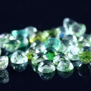 Green Tourmaline Rose Cut Cabochon 4mm Round – per stone | Natural genuine stones & crystals in various shapes & sizes. Buy raw cut, tumbled, or polished gemstones for making jewelry or crystal healing energy vibration raising reiki stones. #crystals #gemstones #crystalhealing #crystalsandgemstones #energyhealing #affiliate #ad