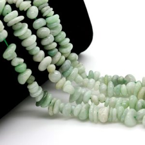 Shop Jade Chip & Nugget Beads! Natural Jade, Burma Jade Chips Nugget Assorted Size Loos Natural Gemstone Beads – Pgs106 | Natural genuine chip Jade beads for beading and jewelry making.  #jewelry #beads #beadedjewelry #diyjewelry #jewelrymaking #beadstore #beading #affiliate #ad