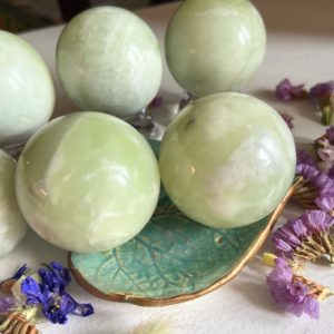 Shop Jade Shapes! Jade Sphere Healing Crystals And Stones | Natural genuine stones & crystals in various shapes & sizes. Buy raw cut, tumbled, or polished gemstones for making jewelry or crystal healing energy vibration raising reiki stones. #crystals #gemstones #crystalhealing #crystalsandgemstones #energyhealing #affiliate #ad