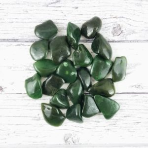 Shop Jade Stones & Crystals! Jade Tumbled Stones, Reiki Infused Nephrite Jade, Green Jade Wire Wrapping Self Care Healing Crystals   Natural genuine stones & crystals in various shapes & sizes. Buy raw cut, tumbled, or polished gemstones for making jewelry or crystal healing energy vibration raising reiki stones. #crystals #gemstones #crystalhealing #crystalsandgemstones #energyhealing #affiliate #ad