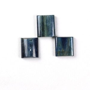 Shop Kyanite Cabochons! 3 Piece of Set Natural  Kyanite Smooth Cabochon Size 19.60×20-21×23.75mm Approx Weight 138 Carat,Best Quality,Kyanite Cabochon,Square   Natural genuine stones & crystals in various shapes & sizes. Buy raw cut, tumbled, or polished gemstones for making jewelry or crystal healing energy vibration raising reiki stones. #crystals #gemstones #crystalhealing #crystalsandgemstones #energyhealing #affiliate #ad