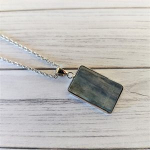 Kyanite Crystal Healing Pendant, Kyanite necklace, Protection, Chakra Alignment, Psychic Abilities, Tranquility | Natural genuine Gemstone pendants. Buy crystal jewelry, handmade handcrafted artisan jewelry for women.  Unique handmade gift ideas. #jewelry #beadedpendants #beadedjewelry #gift #shopping #handmadejewelry #fashion #style #product #pendants #affiliate #ad
