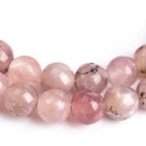 Shop Lepidolite Round Beads! 102 / 51 Pcs – 4MM Purple Pink Lepidolite Beads Grade A Genuine Natural Round Gemstone Loose Beads (112718) | Natural genuine round Lepidolite beads for beading and jewelry making.  #jewelry #beads #beadedjewelry #diyjewelry #jewelrymaking #beadstore #beading #affiliate #ad