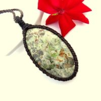 Macrame Necklace, Serpentine Jewelry, Serpentine Necklace, Macrame Jewelry, Stone Necklace, Healing Jewelry, Unique Gift Ideas | Natural genuine Gemstone jewelry. Buy crystal jewelry, handmade handcrafted artisan jewelry for women.  Unique handmade gift ideas. #jewelry #beadedjewelry #beadedjewelry #gift #shopping #handmadejewelry #fashion #style #product #jewelry #affiliate #ad