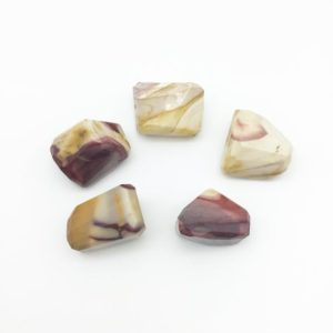 Shop Mookaite Jasper Chip & Nugget Beads! 35-40mm Large Faceted Mookaite Nugget Bead – Sold Individually, Randomly Chosen – High Quality Hand-Cut Indian Semi-Precious Gemstone   Natural genuine chip Mookaite Jasper beads for beading and jewelry making.  #jewelry #beads #beadedjewelry #diyjewelry #jewelrymaking #beadstore #beading #affiliate #ad