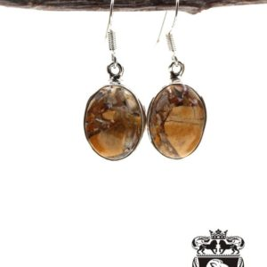 Shop Mookaite Jasper Earrings! Brecciated Mookaite 925 SOLID Sterling Silver Earrings E102   Natural genuine Mookaite Jasper earrings. Buy crystal jewelry, handmade handcrafted artisan jewelry for women.  Unique handmade gift ideas. #jewelry #beadedearrings #beadedjewelry #gift #shopping #handmadejewelry #fashion #style #product #earrings #affiliate #ad