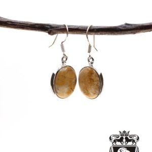Shop Mookaite Jasper Earrings! Brecciated Mookaite 925 SOLID Sterling Silver Earrings E59   Natural genuine Mookaite Jasper earrings. Buy crystal jewelry, handmade handcrafted artisan jewelry for women.  Unique handmade gift ideas. #jewelry #beadedearrings #beadedjewelry #gift #shopping #handmadejewelry #fashion #style #product #earrings #affiliate #ad