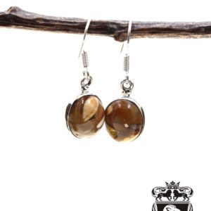 Shop Mookaite Jasper Earrings! Brecciated Mookaite 925 SOLID Sterling Silver Earrings E61   Natural genuine Mookaite Jasper earrings. Buy crystal jewelry, handmade handcrafted artisan jewelry for women.  Unique handmade gift ideas. #jewelry #beadedearrings #beadedjewelry #gift #shopping #handmadejewelry #fashion #style #product #earrings #affiliate #ad