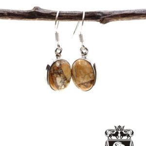 Shop Mookaite Jasper Earrings! Brecciated Mookaite 925 Solid Sterling Silver Earrings E42   Natural genuine Mookaite Jasper earrings. Buy crystal jewelry, handmade handcrafted artisan jewelry for women.  Unique handmade gift ideas. #jewelry #beadedearrings #beadedjewelry #gift #shopping #handmadejewelry #fashion #style #product #earrings #affiliate #ad