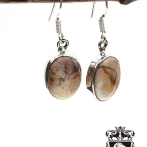 Shop Mookaite Jasper Earrings! Oval Shaped Brecciated Mookaite 925 Solid Sterling Silver Earrings E19   Natural genuine Mookaite Jasper earrings. Buy crystal jewelry, handmade handcrafted artisan jewelry for women.  Unique handmade gift ideas. #jewelry #beadedearrings #beadedjewelry #gift #shopping #handmadejewelry #fashion #style #product #earrings #affiliate #ad