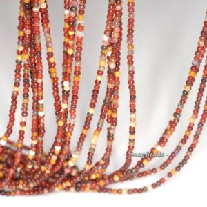 Shop Mookaite Jasper Round Beads! 2mm Decadence Mookaite Gemstone Round 2mm Loose Beads 16 inch Full Strand (90113617-107 – 2mm C) | Natural genuine round Mookaite Jasper beads for beading and jewelry making.  #jewelry #beads #beadedjewelry #diyjewelry #jewelrymaking #beadstore #beading #affiliate #ad