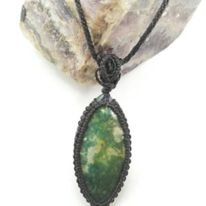 Shop Moss Agate Pendants! Tree of life necklace, moss agate necklace, moss agate pendant, moss agate jewelry, tree necklace, tree of life jewelry, tree of life | Natural genuine Moss Agate pendants. Buy crystal jewelry, handmade handcrafted artisan jewelry for women.  Unique handmade gift ideas. #jewelry #beadedpendants #beadedjewelry #gift #shopping #handmadejewelry #fashion #style #product #pendants #affiliate #ad