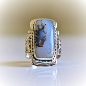 Shop Moss Agate Rings! Moss Agate Ring,Handmade Jewelry,925Sterling Silver Ring,Natural Gemstone Ring,Christmas Gift,Boho Ring,Dainty Trendy Navajo Gypsy Midi Ring   Natural genuine Moss Agate rings, simple unique handcrafted gemstone rings. #rings #jewelry #shopping #gift #handmade #fashion #style #affiliate #ad