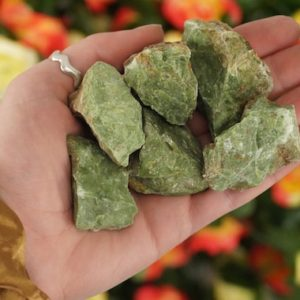 Shop Raw & Rough Opal Stones! Small Raw Green Opal Rough Crystal | Natural genuine stones & crystals in various shapes & sizes. Buy raw cut, tumbled, or polished gemstones for making jewelry or crystal healing energy vibration raising reiki stones. #crystals #gemstones #crystalhealing #crystalsandgemstones #energyhealing #affiliate #ad