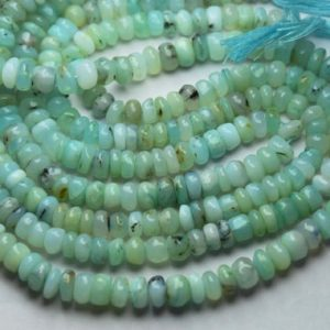 Shop Opal Rondelle Beads! 8 Inch Strand,Natural Peruvian Blue Opal Smooth Rondelles Shape Beads,Size 8-8.5mm   Natural genuine rondelle Opal beads for beading and jewelry making.  #jewelry #beads #beadedjewelry #diyjewelry #jewelrymaking #beadstore #beading #affiliate #ad