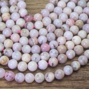 Shop Opal Round Beads! natural  pink opal beads – smooth round opal gemstones – light pink beads for jewelry beading – opal beads supplies – 15inch   Natural genuine round Opal beads for beading and jewelry making.  #jewelry #beads #beadedjewelry #diyjewelry #jewelrymaking #beadstore #beading #affiliate #ad