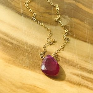 Shop Pink Sapphire Necklaces! Sapphire Necklace Pink Sapphire Necklace Gemstone Necklace Natural Sapphire Necklace September Birthstone Genuine Sapphire Gift for her   Natural genuine Pink Sapphire necklaces. Buy crystal jewelry, handmade handcrafted artisan jewelry for women.  Unique handmade gift ideas. #jewelry #beadednecklaces #beadedjewelry #gift #shopping #handmadejewelry #fashion #style #product #necklaces #affiliate #ad