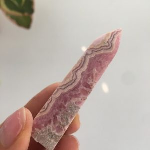 Shop Rhodochrosite Points & Wands! Rhodochrosite Point, Polished Rhodochrosite, Rhodochrosite | Natural genuine stones & crystals in various shapes & sizes. Buy raw cut, tumbled, or polished gemstones for making jewelry or crystal healing energy vibration raising reiki stones. #crystals #gemstones #crystalhealing #crystalsandgemstones #energyhealing #affiliate #ad