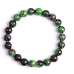 """Shop Ruby Zoisite Bracelets! 8MM Ruby Zoisite Beads Bracelet Grade AAA Genuine Natural Round Gemstone 7.5"""" Bulk Lot Options (106666h-2018)   Natural genuine Ruby Zoisite bracelets. Buy crystal jewelry, handmade handcrafted artisan jewelry for women.  Unique handmade gift ideas. #jewelry #beadedbracelets #beadedjewelry #gift #shopping #handmadejewelry #fashion #style #product #bracelets #affiliate #ad"""