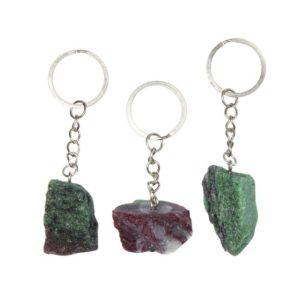 Shop Raw & Rough Ruby Zoisite Stones! Raw Ruby Zoisite Keychain – Raw Ruby in Zoisite keychain – Anyolite – ruby zoisite rough – healing crystals – raw ruby stone keychain | Natural genuine stones & crystals in various shapes & sizes. Buy raw cut, tumbled, or polished gemstones for making jewelry or crystal healing energy vibration raising reiki stones. #crystals #gemstones #crystalhealing #crystalsandgemstones #energyhealing #affiliate #ad