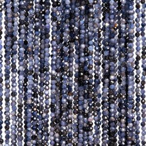 Shop Sapphire Faceted Beads! 173 Pcs – 2MM Blue Sapphire Beads Myanmar Grade A Genuine Natural Faceted Round Gemstone Loose Beads (113239) | Natural genuine faceted Sapphire beads for beading and jewelry making.  #jewelry #beads #beadedjewelry #diyjewelry #jewelrymaking #beadstore #beading #affiliate #ad
