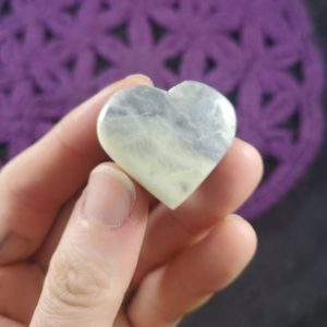 Shop Serpentine Shapes! Infinite Serpentine Pocket Heart Light Green stone Crystal Stones Crystals Polished love heart shaped Chakra pale green grey serpentine | Natural genuine stones & crystals in various shapes & sizes. Buy raw cut, tumbled, or polished gemstones for making jewelry or crystal healing energy vibration raising reiki stones. #crystals #gemstones #crystalhealing #crystalsandgemstones #energyhealing #affiliate #ad
