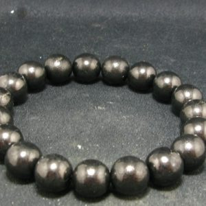 """Shop Shungite Bracelets! Shungite Bracelet with 10mm Round Beads From Russia – 7""""   Natural genuine Shungite bracelets. Buy crystal jewelry, handmade handcrafted artisan jewelry for women.  Unique handmade gift ideas. #jewelry #beadedbracelets #beadedjewelry #gift #shopping #handmadejewelry #fashion #style #product #bracelets #affiliate #ad"""