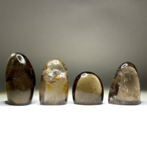 Shop Smoky Quartz Shapes! Smoky Quartz Free Form with Cut Base | Natural genuine stones & crystals in various shapes & sizes. Buy raw cut, tumbled, or polished gemstones for making jewelry or crystal healing energy vibration raising reiki stones. #crystals #gemstones #crystalhealing #crystalsandgemstones #energyhealing #affiliate #ad