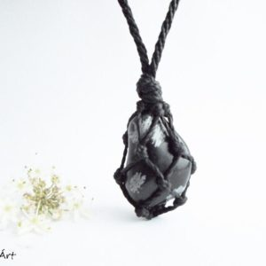 Shop Snowflake Obsidian Jewelry! Snowflake obsidian, obsidian jewelry, obsidian pendant, healing stone, volcanic rock, cleansing stone, womb healing, crystal therapy stone | Natural genuine Snowflake Obsidian jewelry. Buy crystal jewelry, handmade handcrafted artisan jewelry for women.  Unique handmade gift ideas. #jewelry #beadedjewelry #beadedjewelry #gift #shopping #handmadejewelry #fashion #style #product #jewelry #affiliate #ad