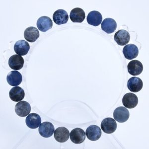 """Shop Sodalite Bracelets! 8MM Matte Sodalite Beads Bracelet Grade AAA Genuine Natural Round Gemstone 7"""" BULK LOT 1,3,5,10 and 50 (106781h-066)   Natural genuine Sodalite bracelets. Buy crystal jewelry, handmade handcrafted artisan jewelry for women.  Unique handmade gift ideas. #jewelry #beadedbracelets #beadedjewelry #gift #shopping #handmadejewelry #fashion #style #product #bracelets #affiliate #ad"""