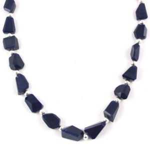Shop Sodalite Chip & Nugget Beads! AAA Quality Natural Sodalite Nuggets Shape 6×10-10x14mm Beads Sodalite Beads Natural Blue Beads faceted Beads Sodalite Stone Blue Sodalite   Natural genuine chip Sodalite beads for beading and jewelry making.  #jewelry #beads #beadedjewelry #diyjewelry #jewelrymaking #beadstore #beading #affiliate #ad