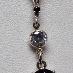 Shop Spinel Pendants! Black Spinel Jewelry Set, Genuine Untreated 9mm Round Faceted 10+cttw, Pendant, Earrings, 18 inch Chain Included, Set in 925 Sterling Silver | Natural genuine Spinel pendants. Buy crystal jewelry, handmade handcrafted artisan jewelry for women.  Unique handmade gift ideas. #jewelry #beadedpendants #beadedjewelry #gift #shopping #handmadejewelry #fashion #style #product #pendants #affiliate #ad